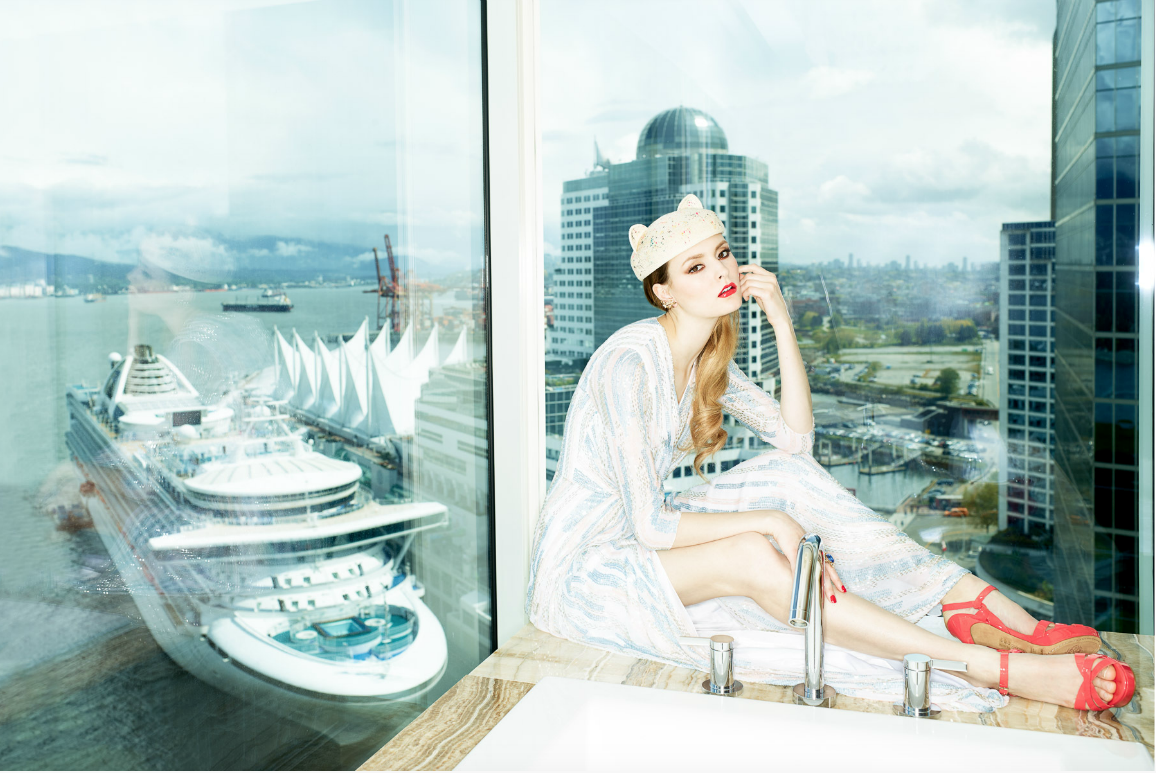 lizbell agency amy groves for chloe magazine and the fairmont beautiful images of amy groves taken at the fairmont hotel in downtown vancouver for chloe magazine photographed by pooya nabei styled by sarah danniels