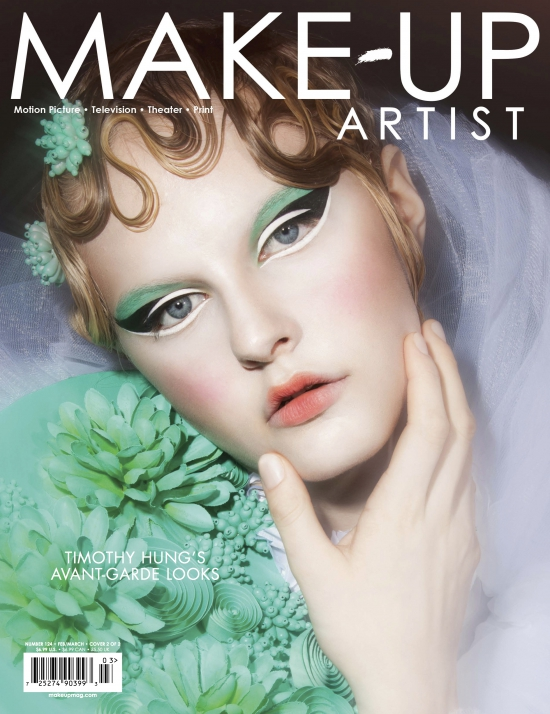 lizbell agency makeup artist magazine featuring lb