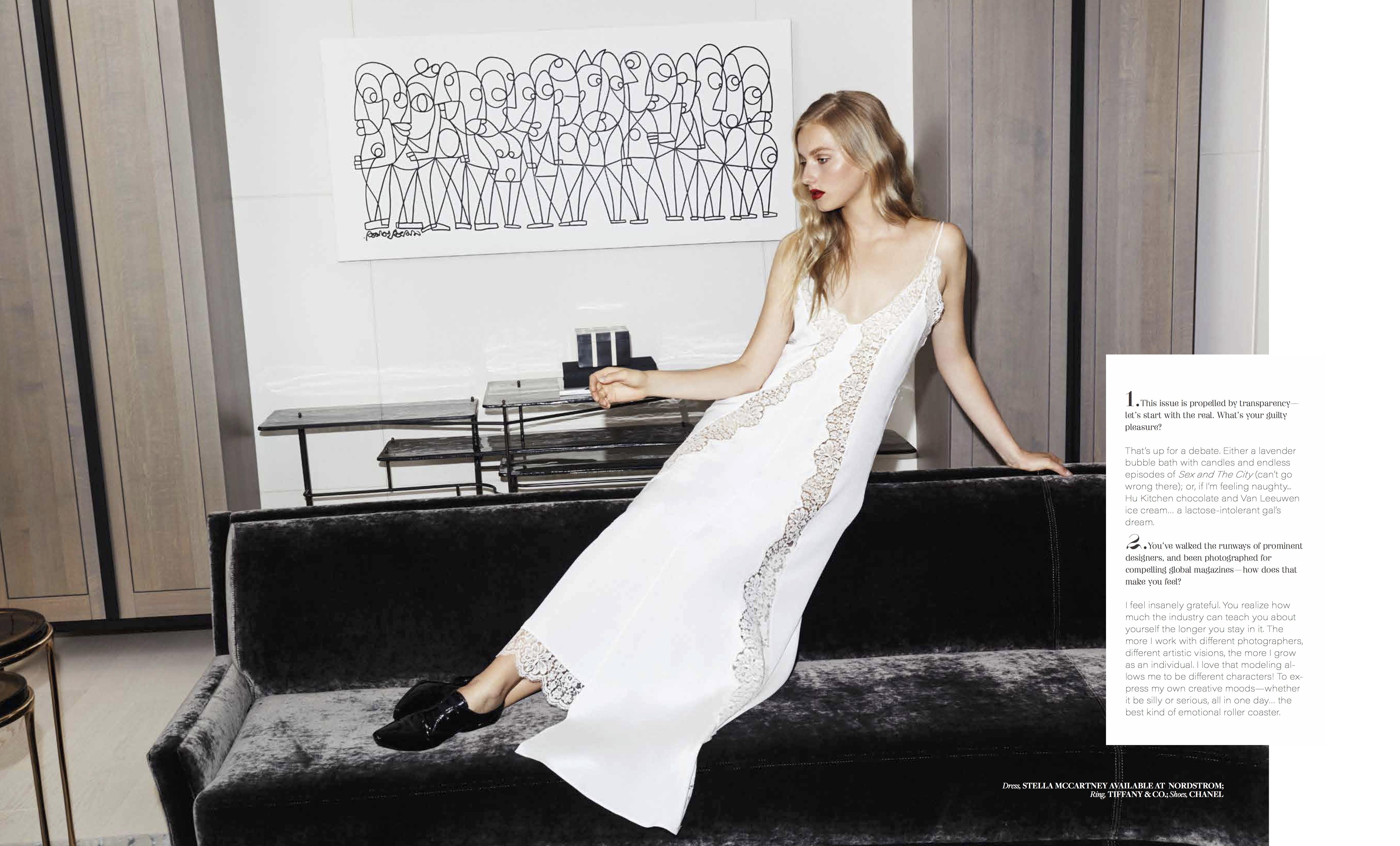 Lizbell Agency - Superstar Natalie Ludwig Cover Story for